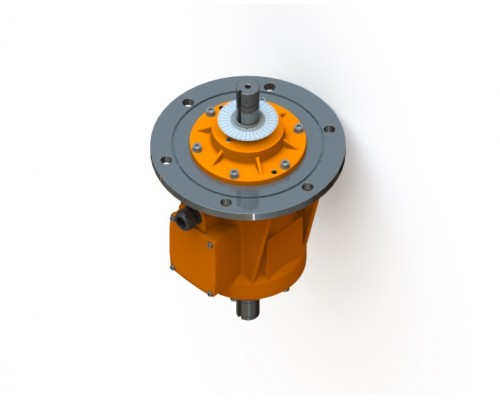 MVE 2500/15N -IC-70AM фланцевый вибратор
